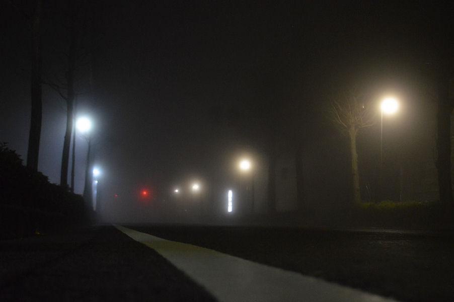霧の夜に 撮影 松田光司