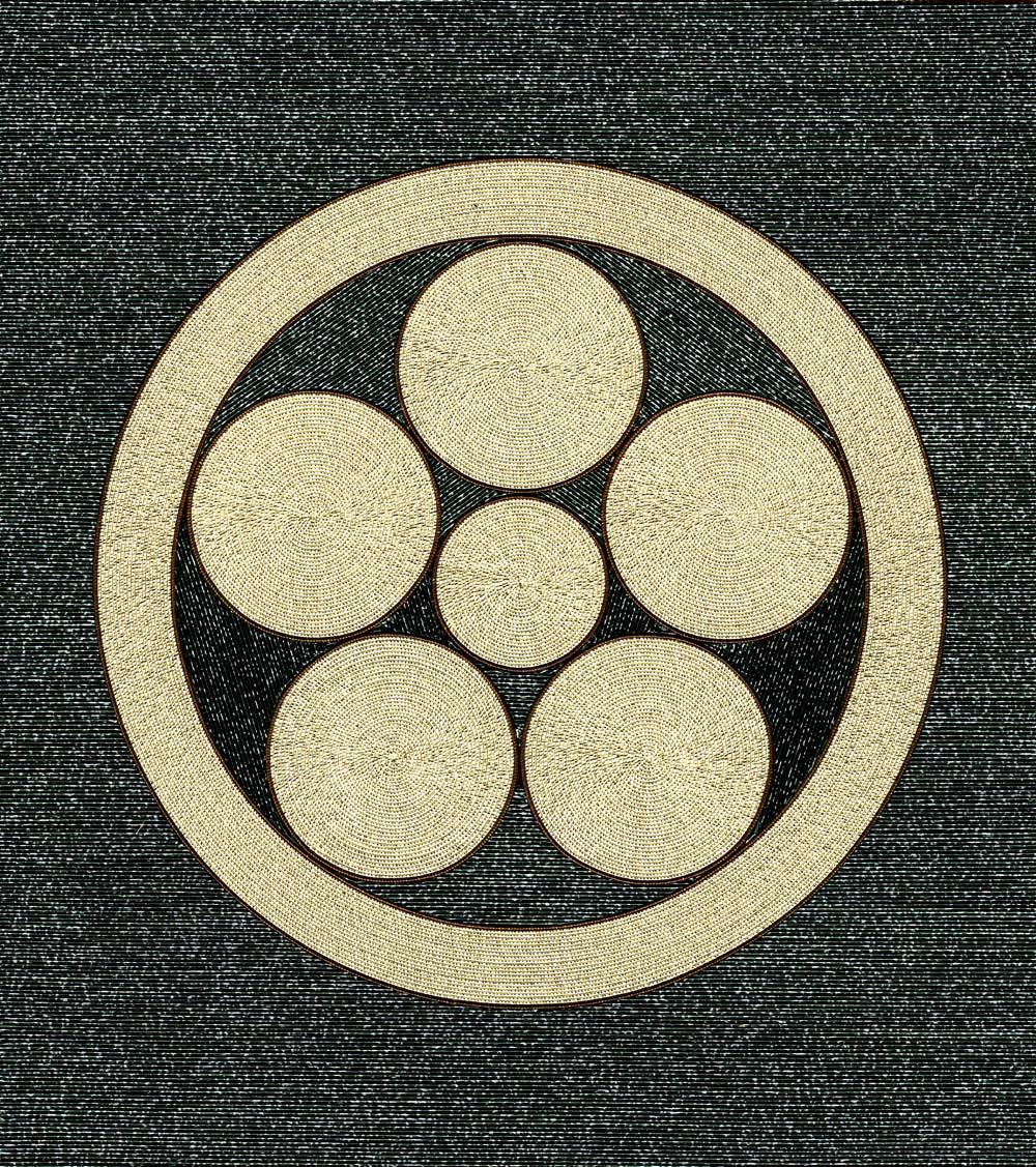 丸に星梅鉢紋