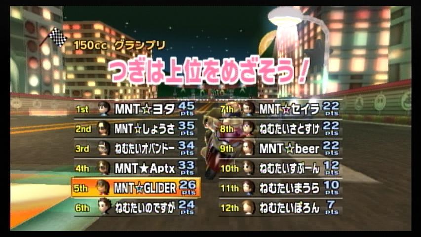 MNT vs ねむたい (2) 1GP