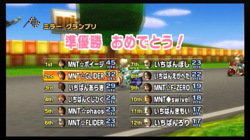 MNT vs いちばん 1GP
