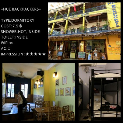 HUE BACKPACKERS