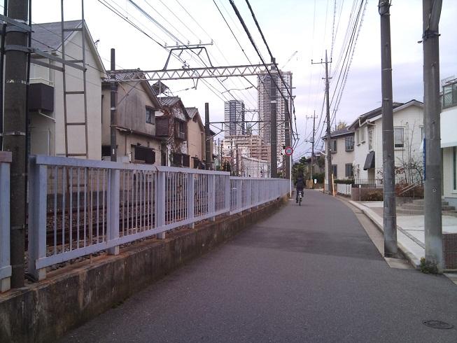 京成線沿い