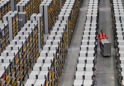 Amazon 倉庫 棚