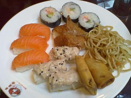 Sello Kiinalainen ravintola sushi 12.12.2012