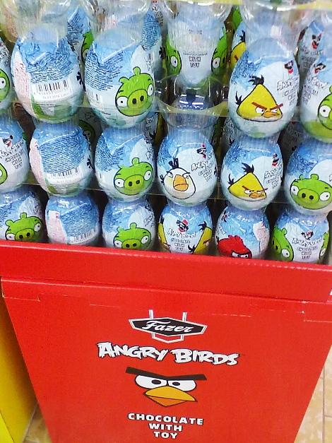 Angry Birds muna