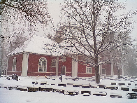 Kirkko maisema