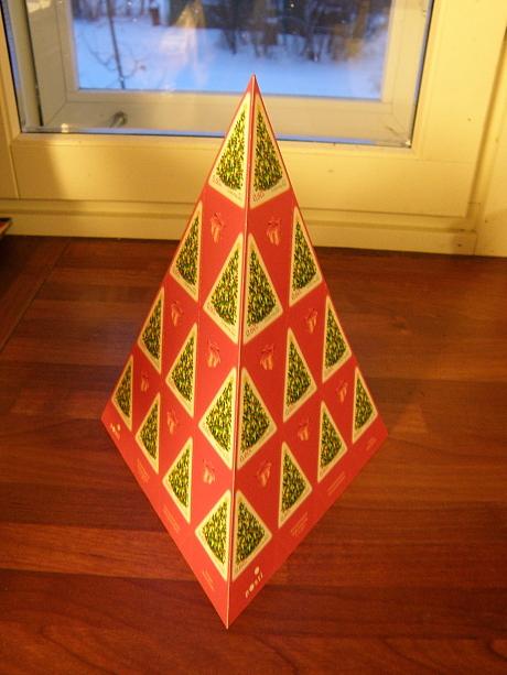 Joulupostimerkki 2012