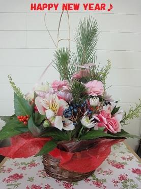 2013お正月お花