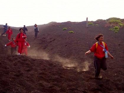 富士山砂走り1