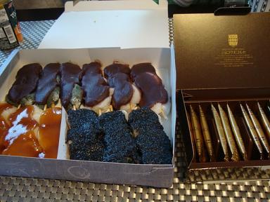 串ダンゴとお菓子