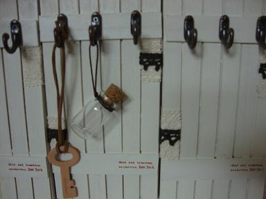 木工キーフック2