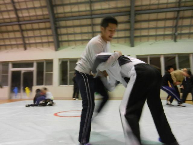 レスリング練習 033