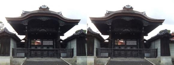 仁和寺 勅使門(交差法)