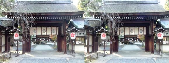 平野神社(平行法)
