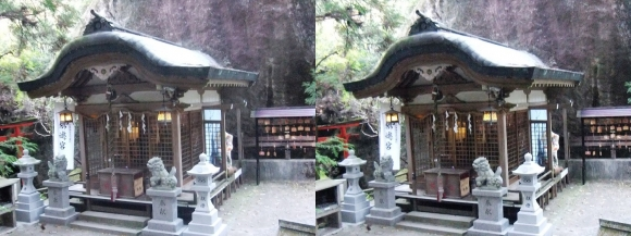 磐船神社①(平行法)