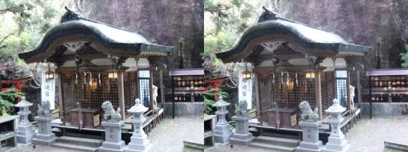 磐船神社①(交差法)