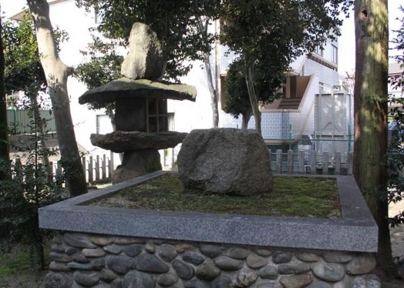 高岡山星の森の隕石