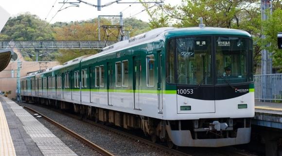 京阪電車 交野線 私市駅