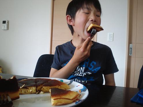 ホットケーキ食い