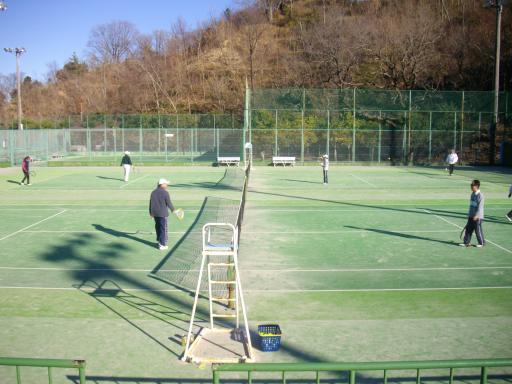 市民テニス場