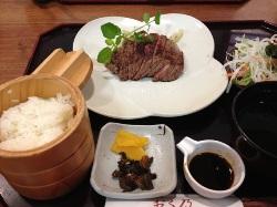 牛ステーキ おく乃 lunch