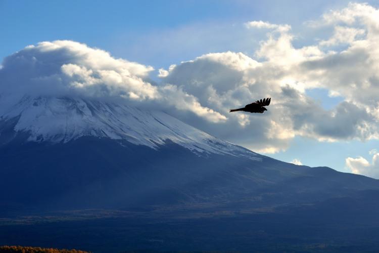 河口湖富士山2
