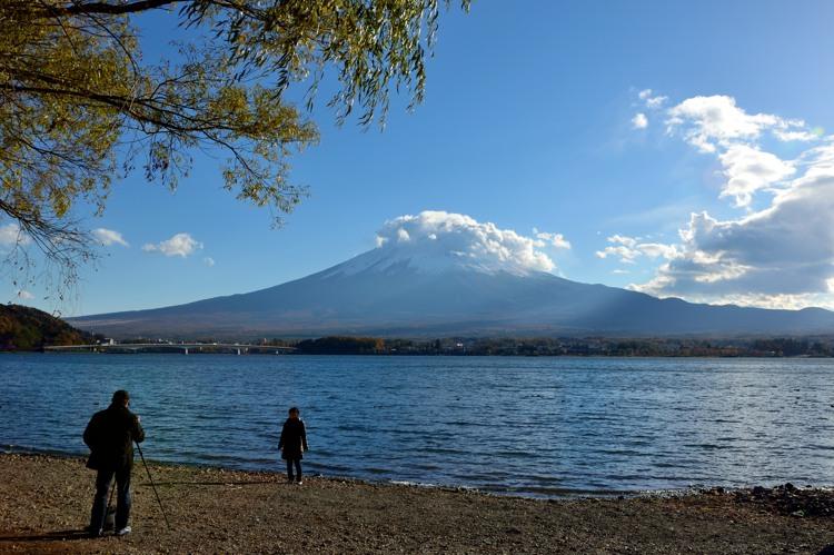 河口湖富士山3