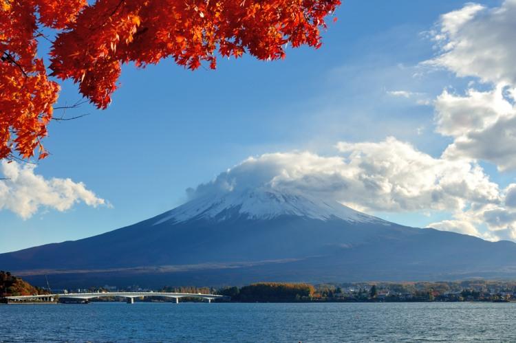 河口湖富士山8