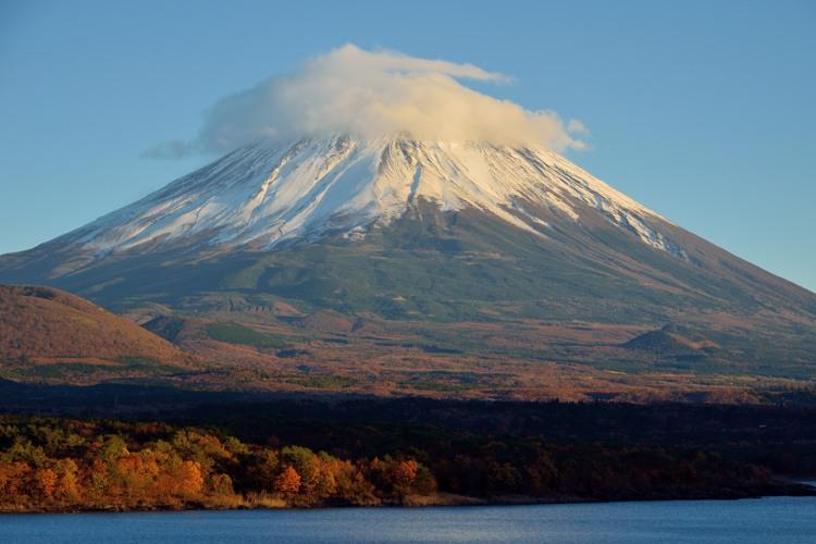 本栖湖の富士山6