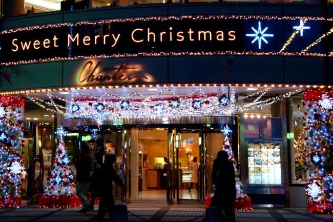 東京日比谷のクリスマス2