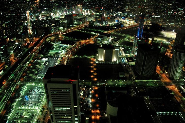 横浜の夜景2(2)
