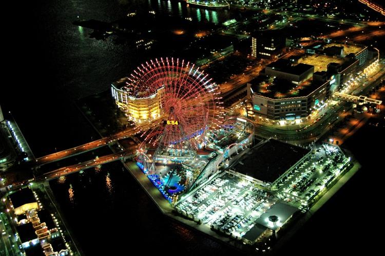 横浜の夜景2(5)