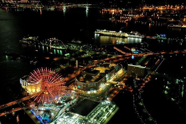 横浜の夜景2(7)