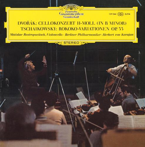 Rostropovich,Karajan/Dovorak:Cello Concerto,Tchaikovsky:Rococo Variation
