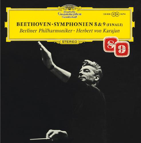 Herbert von Karajan - Beethoven Symphonie Nr. 8 & 9(Finale)