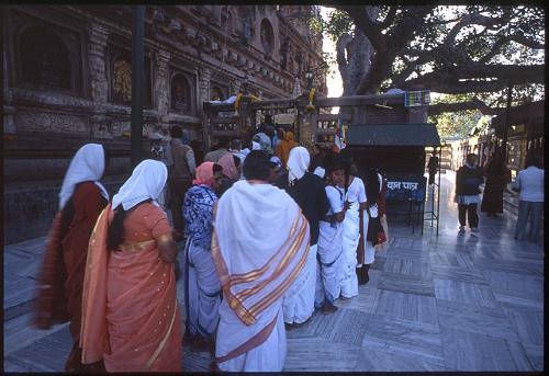 ブッダガヤ女性仏教徒