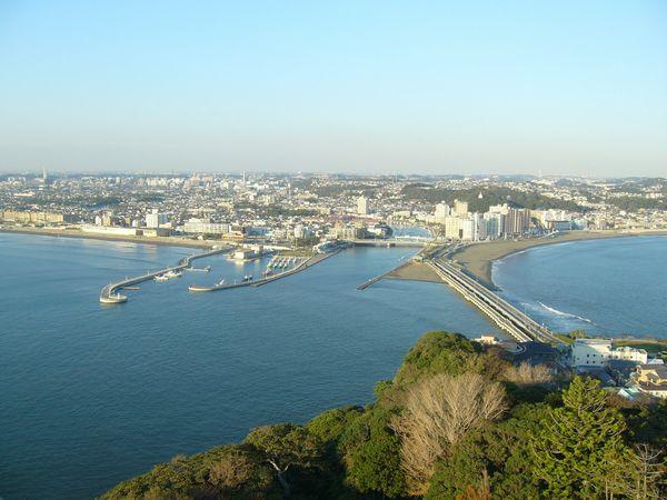 江ノ島シーキャンドル風景①