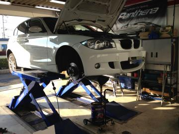 BMW120車検01