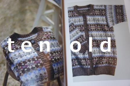 ten old ニット本-4