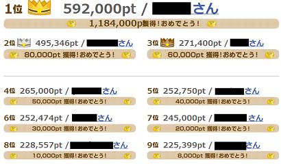 げん玉ランキング2
