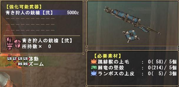 ハンター ガンス青2