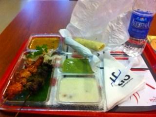 オマーンの食事・空港にて