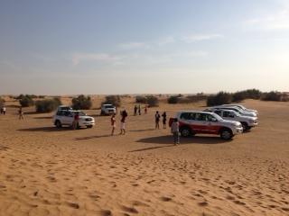 アラビアンアドベンチャー砂漠ツアー