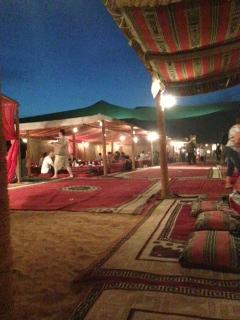 砂漠の夜1