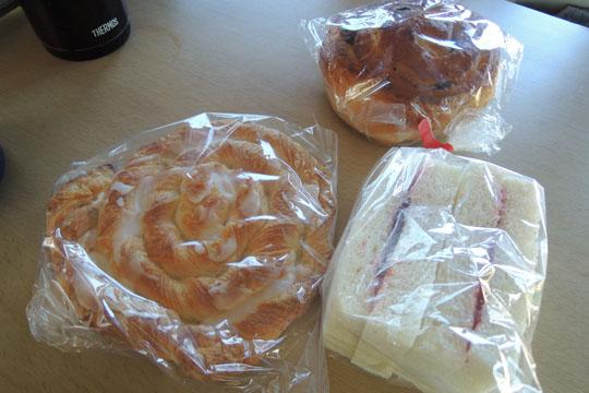 102ちちぶベーカリーのパン