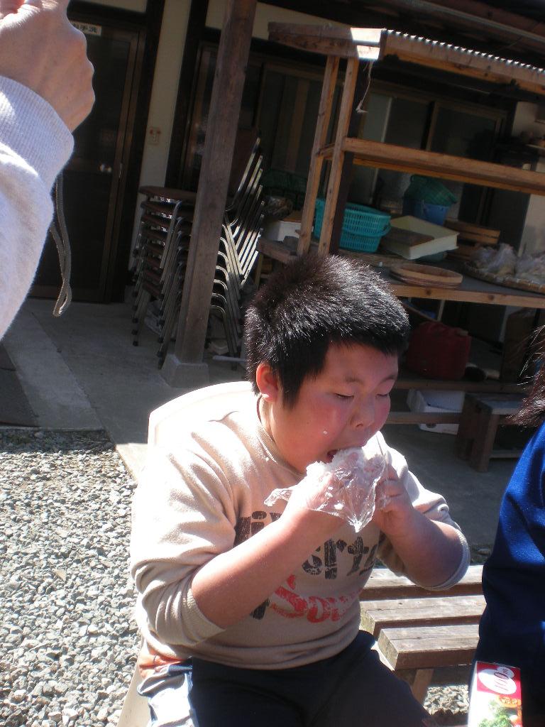 釜戸炊き体験4