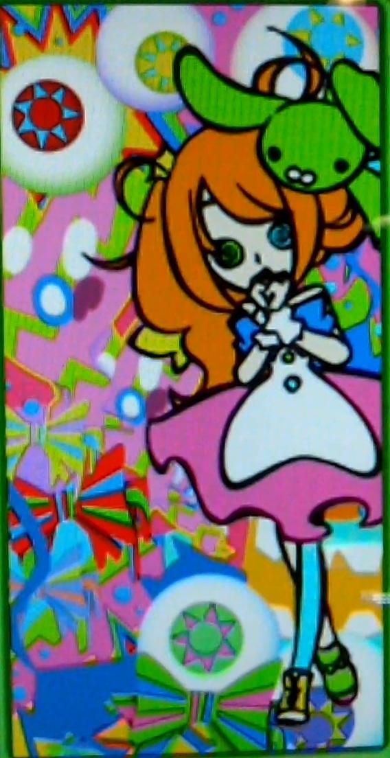 POPN_MUSIC21_SUNNY_PARK-アイドルラッシュうさぬこ2Pカラー1