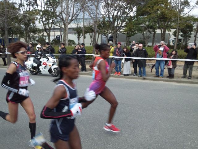 大阪国際女子マラソン2013