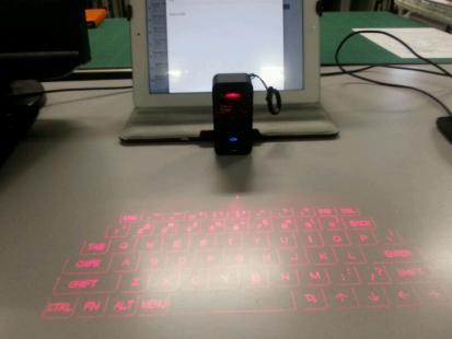 投影型キーボード