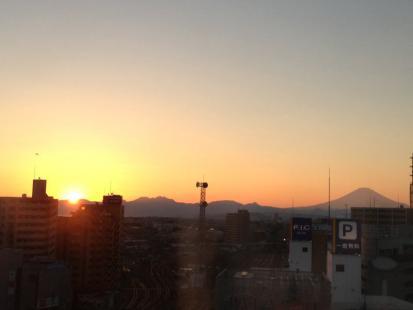 藤沢の夕景